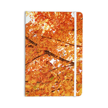 "Sylvia Coomes ""Fall Folioge"" Orange Yellow Everything Notebook"
