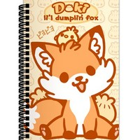 Sugar Bunny Shop - Doki Fox Spiral Notebook