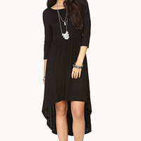FOREVER 21 Touch-Of-Glam Cutout Dress Black Medium