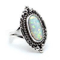 Cosmic Love Opal Ring