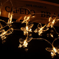 Bright Colorful Creative Stylish Box Hot Sale Butterfly Decoration Lights [11649458191]