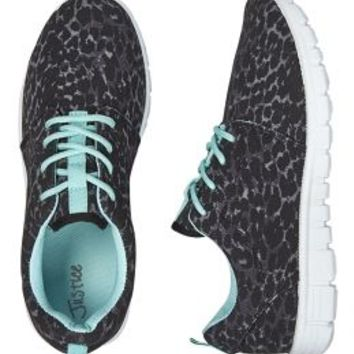 Leopard Jogger Sneakers | Girls {category} {parent_category} | Shop Justice