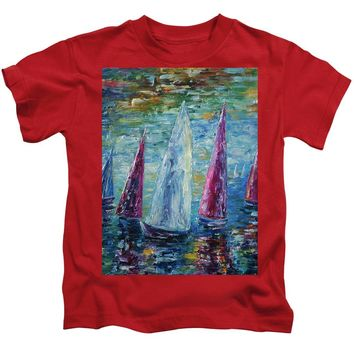 Sails To-night - Kids T-Shirt