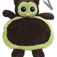Mary Meyer 02960 Green Owl Bestever Baby Mat with Pacifier Clip