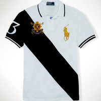Custom-Fit Black Watch Polo