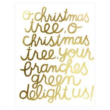 Oh Christmas Tree Cards Boxed