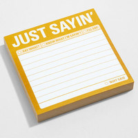 Just Sayin' Sticky Notes | Passive Aggressive Notes | fredflare.com