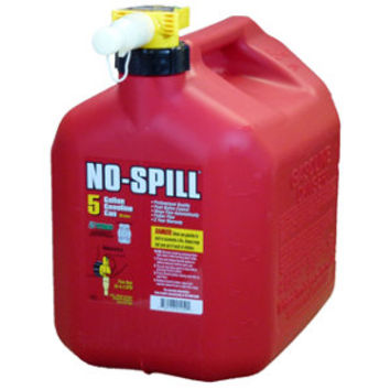 NO-SPILL 5 gal. Gas Can, CARB Compliant - For Life Out Here