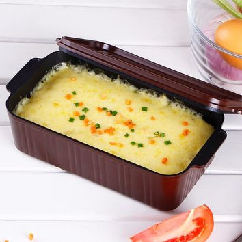Lunch Box Die-cast Aluminum Box Multifunction Toast Bread Molds Non-stick No Peculiar Smell Loaf Pans Baking Cake Tools BM-016
