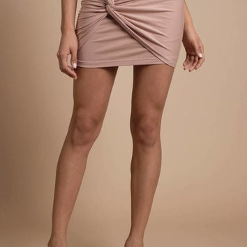 Ready Or Knot Mini Skirt