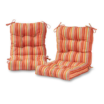 Coastal Collection Outdoor Chair Cushion - SET OF 2