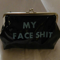 Funny make up bag- funny bachelorette gift- unique gag gift for her