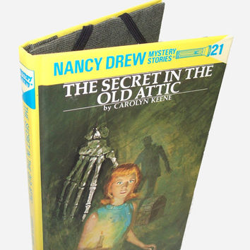 Kindle Nook Kobo Cover Case Nancy Drew Book by retrograndma