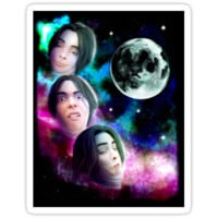 Three Chinigan Moon (Print) by La-Capitale-R
