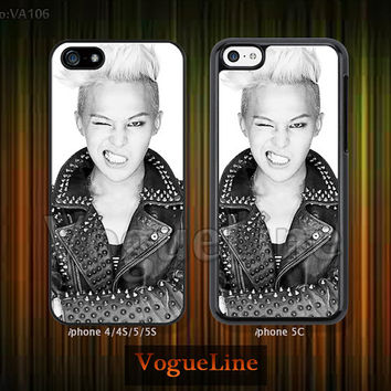 GD, G-Dragon iPhone 5 case iPhone 5c case iPhone 5s case iPhone 4 case iPhone 4s case, phone case iPhone case GD, G-Dragon, Big Bang --VA106