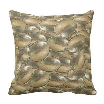Putty Nuggets Throw Pillow