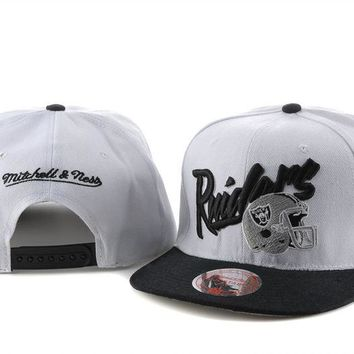 Oakland Raiders Cap Snapback Hat - Ready Stock