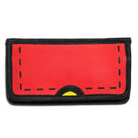 Dream Bags Gimme Ur Lunch Money Cartoon Wallet Red One