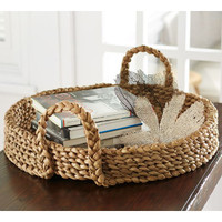 Pottery Barn Beachcomber Round Tray from Pottery Barn | BHG.com Shop
