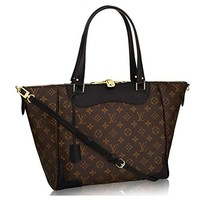 Authentic Louis Vuitton Monogram Canvas Estrela Handbag Noir Article: M51192 Made in France