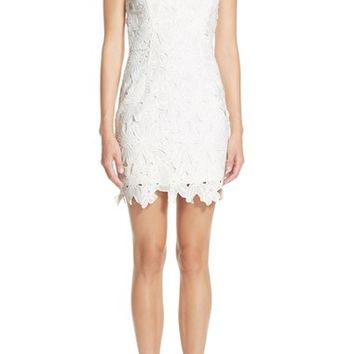 ASTR Textured Floral Body-Con Dress | Nordstrom