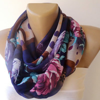 floral print scarf , 2013 Trend Scarf , women fashions , ULTRA SOFT scarves, spring summer accessory