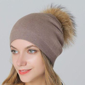 ac PEAPON Wool Knit King Size Winter Ladies Outdoors Thicken Hats [110448738329]