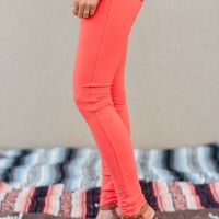 All Play Coral Jeggings