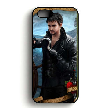Once Upon A Time Captain Hook iPhone 5, iPhone 5s and iPhone 5S Gold case