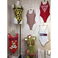 Gucci / Fendi / Versace / Burberry / Moschino / Tommy Bikini Swimsuit