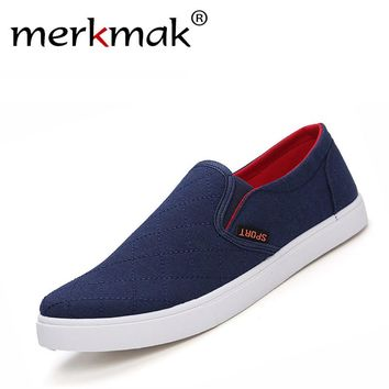 2017 new hot sale fashion breathable anti slip men casual canvas shoes men good quality slip-on flats canvas shoes drop shipping