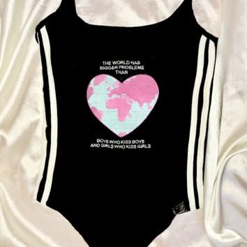 SWEET LORD O'MIGHTY! LOVE IS LOVE BODYSUIT