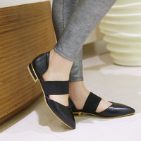 Pointed Toe Women Sandals Flats Shoes