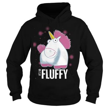 Despicable Me It's So Fluffy Pink shirt Hoodie