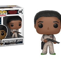 Ghostbuster Lucas Funko Pop! Television Stranger Things