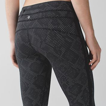 pace tight (full-on luxtreme) *lights out | women's running pants | lululemon athletica