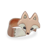 Wrap Around Fox Ring