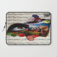 am watching you Laptop Sleeve by C Kiki Colle