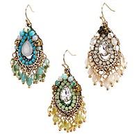Romantic Nod Statement Earring