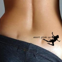 Peter Pan Temporary Tattoo