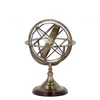 ANTIQUE BRASS GLOBE - S | EICHHOLTZ