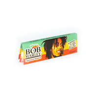 Bob Marley Hemp Rolling Papers - Single Pack - 1.25 Inches