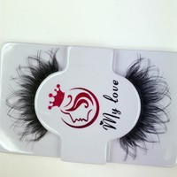 Hot Deal Thick Long Hot Sale Sexy Handcrafts False Eyelashes [51395395596]