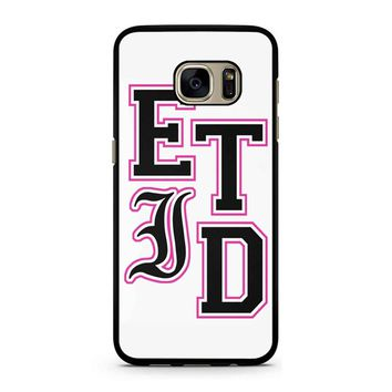 Every Time I Die Varsity Letters Samsung Galaxy S7 Case