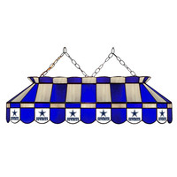 Dallas Cowboys NFL 40 Inch Billiards Stained Glass Lamp