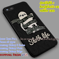 Nap All Day is Sloth Life | Quote | Funny iPhone 6s 6 6s+ 6plus Cases Samsung Galaxy s5 s6 Edge+ NOTE 5 4 3 #quote dl2