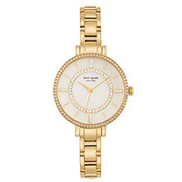 kate spade new york Pave Gramercy Skinny Bracelet Watch