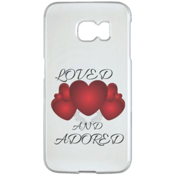 Loved And Adored - Samsung Galaxy S6 Edge Case