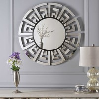 Far East Chinese Inspired Wall Mirror