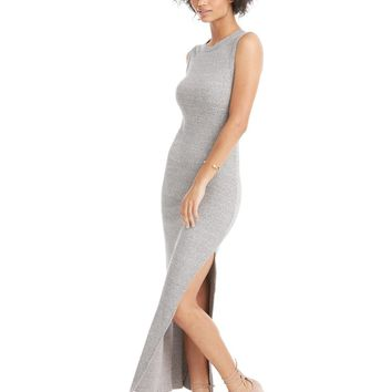 Enza Costa Muscle Maxi Slit Dress